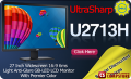 "Монитор Dell UltraSharp U2713H 27""  (68 см)"