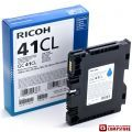 Ricoh Cyan Gel Low Yield GC 41CL (405766)
