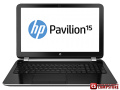 "Ноутбук HP Pavilion 15-n095er (F6S35EA) (Intel® Core™ i5-4200U  / DDR3 4 GB/ 500 GB HDD/ AMD Radeon HD 8670М  1 GB/ HD LED 15.6"" / Wi-Fi/ Webcam/ DVD RW/ Bluetooth)"