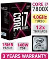 Intel® Core™ i7-7800X X-series Processor (8.25M Cache, up to 4.00 GHz)