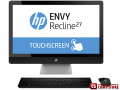 "Моноблок HP ENVY Recline 27-k221nr (J5K97EA) TouchSmart (Intel® Core™ i7-4790T/ DDR3 8 GB/ 1 TB/ 8 GB SDD/ 27"" Full HD IPS WVA Touch/ GeForce GT730T/ Windows 8.1 64 bit/ Bluetooth/ Wi-Fi/ DVD RW)"