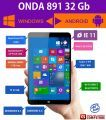 ONDA V891 (Windows & Android) Quad Core. 2 GB RAM