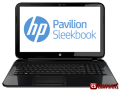 "Ноутбук HP Pavilion 15-b129er SleekBook (D6X30EA) (AMD A4-4355M APU 1.9 GHz/ 4 GB DDR3/ HDD 500 GB/ ATI Radeon 7400 1 GB/ LED 15""6/ USB 3.0/ Wi-Fi/ Bluetooth)"
