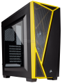 Carbide Series® SPEC-04 Mid-Tower Gaming Case — Black/Yellow