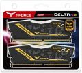 DDR4 Team Group T-FORCE Delta TUF Gaming Alliance RGB 16 GB 3200 MHz (8x2) (TF9D416G3200HC16CDC01)